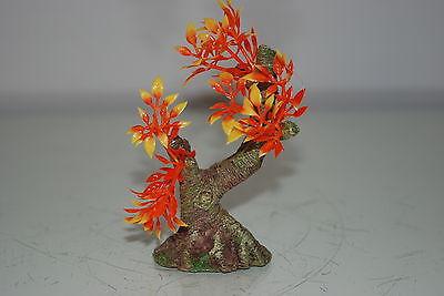 Aquarium Tree with a Rock Base 11 x 6.5 x 11 cms Suitable For All Aquariums 4