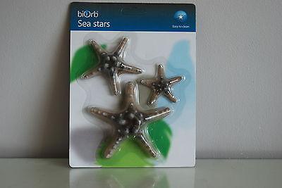Aquarium Marine Coloured Starfish Orb Decoration Natural 3 Pack All Aquariums 2