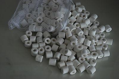 Aquarium Ceramic Rings Filter Media 1 kg Pack Suitable for all Aquarium use 3