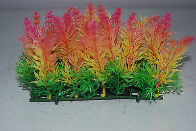 Aquarium Coloured Plant Mat 14 x 5 x 9 cms Suitable For All Aquariums 3