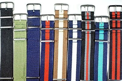 Military nylon NATO watch strap Add a strap tool and new pins for £1     #1 2