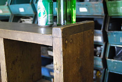 Pigeon holes industrial rustic bookcase x3 reclaimed wood gplanera 5
