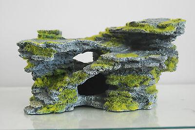 Aquarium Large Detailed Rock & Moss Decoration 30x18x15 cms For All Aquariums 7