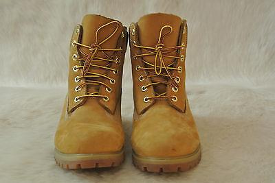 TIMBERLAND AF 6 Inch Premium Boots Wheat Nubuck Men's 8 M 10061 100%