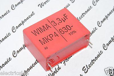 63V 5/% pich:15mm Capacitor 3.3µF 3.3uF WIMA MKS4 3.3uF 10pcs