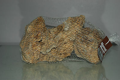 Natural Aquarium Morini Rock 2 kg Netted Bag Medium Sized Pieces 2 - 3 per Bag