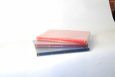 Stamps album. Perfect for strips and blocks, come with slip case - Black 3