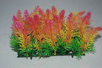 Aquarium Coloured Plant Mat 14 x 5 x 9 cms Suitable For All Aquariums 6