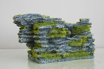 Aquarium Large Detailed Rock & Moss Decoration 30x18x15 cms For All Aquariums 5