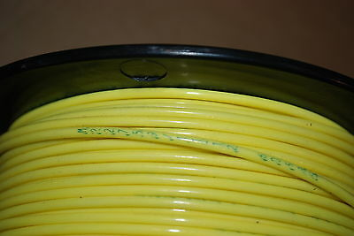 MIL SPEC WIRE M22759//11-12-4  SILVER PLATED 12 AWG  500 FT ROLL  YELLOW NEW
