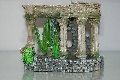 Aquarium Medium Roman Arch With Steps & Plants 18 x 10.5 x 14 cms 5