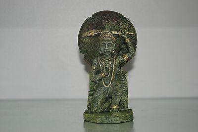 Detailed Aquarium  Buddha Warrior 8 x 8 x 19 cms Suitable for all Aquariums 4