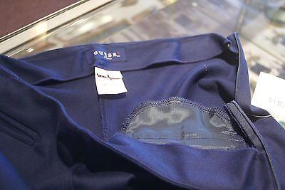 Guess navy blue cotton blend capris inseam 16 juniors size 3 7