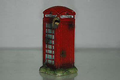 Aquarium Small Old London Telephone Box 8 x 7 x14 cms Suitable For All Aquariums 4