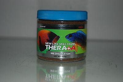 New Life Spectrum Thera  A  Medium Fish Formula 250g Tub 2mm Pellets 2
