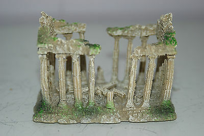 Small Old Roman Temple Greek Ruin Columns Decoration 9.5 x 6 x 6.5 cms 4 • EUR 6,55
