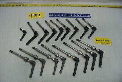 16 Steel Handles - Threaded & 8 pcs. Spring Loaded Hardware - Free Ship 5