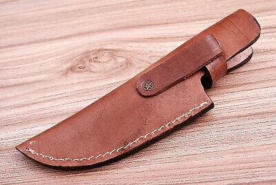 Custom Hand Made Pure Leather Sheath For Fixed Blade Knife - Q 547 2