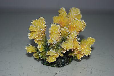 Detailed Aquarium Coral Reef Decoration Yellow Sponge Type 10 x 8 x 8 cms 7