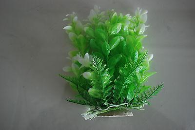 Aquarium Tropical Plastic Plants x 2 Approx 16cm High Suitable for All Aquariums 3
