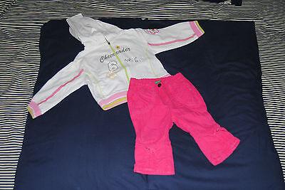 lotto abbigliamento bambina 9/12 mesi BENETTON BRUMS MAGNOLIA... 9