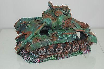 Stunning Aquarium Large Battle Tank Decoration 34 x 21 x 21 cms 8