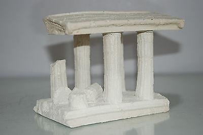 Aquarium Medium Greek Temple Ruin With Columns Decoration 16 x 12 x 12 cms 2