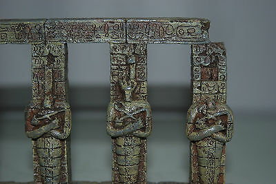 Detailed Aquarium Egyptian Pharaoh Column 17.5 x 4.5 x 14 cms For All Aquariums 2 • EUR 9,26