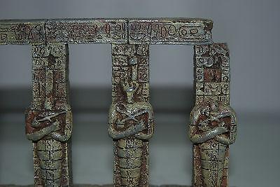 Detailed Aquarium Egyptian Pharaoh Column 17.5 x 4.5 x 14 cms For All Aquariums 2
