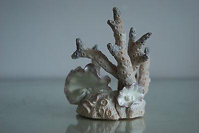 Aquarium Stunning Light Pink Coral Marine Orb Decoration 10 x 7 x 12 cms 8