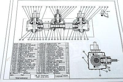 Parts Original SAMSON SP 14-20 Manure Spreader Betjeningsvejledning SP20-20