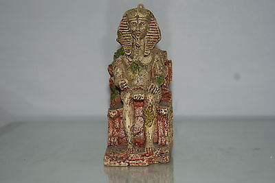 Detailed Aquarium Egyptian Pharaoh Ornament 10 x 7 x 17 cms 4