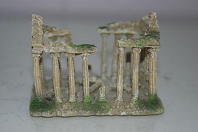 Small Old Roman Temple Greek Ruin Columns Decoration 9.5 x 6 x 6.5 cms 6 • EUR 6,55