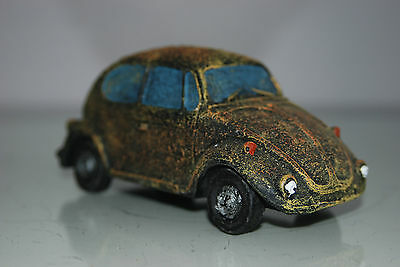 VW Beetle Old Rustic Style Car Decoration 14 x 6 x 6 Suitable For All Aquariums 4