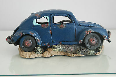 VW Beetle Large Old Rustic Style Car Decoration 33 x 16 x 13 For All Aquariums 8