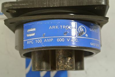 Crouse-Hinds ARK-trol Connector RPE-017-204S05 7 Pin  w// Explosionproof  Plate