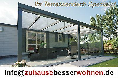 Terrassendach Aluminium Terrassenuberdachung Vsg Glas Uberdachung
