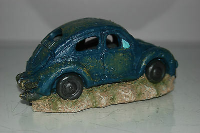 VW Beetle Small Old Rustic Style Car Decoration 18 x 10 x 9 For All Aquariums 5