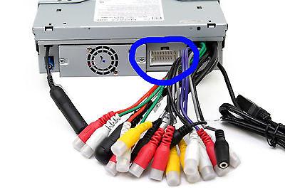 Clarion 18-Pin Wire Harness Plug Vx404 Nx404 Nx602 Nx604 Nx605 Nz503 Vz401 Vz400 4