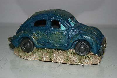 VW Beetle Small Old Rustic Style Car Decoration 18 x 10 x 9 For All Aquariums 4