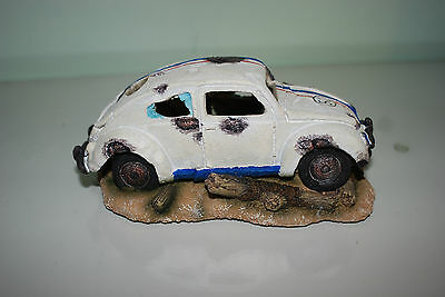 Aquarium VW Herbie car Decoration & Bubble Exhaust Size 15 x 10 x 7 cms 4