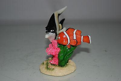 Aquarium Detailed Clown Fish & Coral Base 9 x 8 x 9 cms For All Aquariums 3