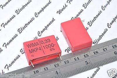 WIMA MKS4-LN 0.33uF 0,33µF 330nF 1pcs 250V 5/% pitch:22.5mm Capacitor