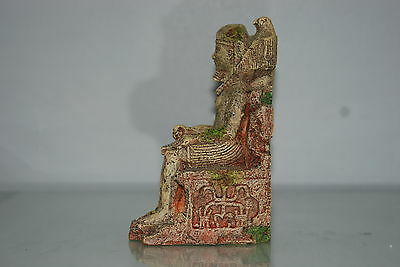Detailed Aquarium Egyptian Pharaoh Ornament 10 x 7 x 17 cms 3