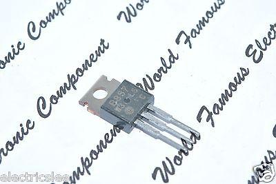 5pc Silicon PNP Triple Diffused Transistor 2SB857 B857 TO-220 50V 4A 40W Hitachi