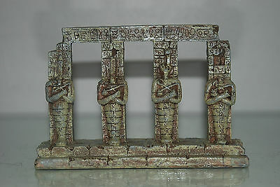 Detailed Aquarium Egyptian Pharaoh Column 17.5 x 4.5 x 14 cms For All Aquariums 4 • EUR 9,26