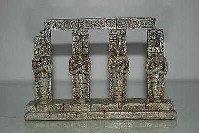 Detailed Aquarium Egyptian Pharaoh Column 17.5 x 4.5 x 14 cms For All Aquariums 4