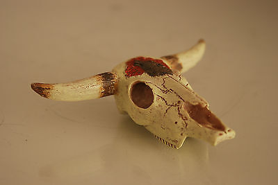 Aquarium Decoration Longhorn Skull 8 x 11 x 3.5 Suitable For All Reptile Tanks 2