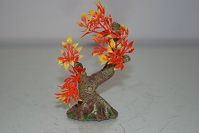 Aquarium Tree with a Rock Base 11 x 6.5 x 11 cms Suitable For All Aquariums 2