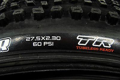 """MAXXIS AGGRESSOR 27.5x2.3/"""" Fold Tubeless 120x2 TPI DC  DD Bike Tire"""